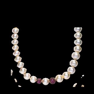 Brogle Selection Halskette Perlen 4A045R8-1