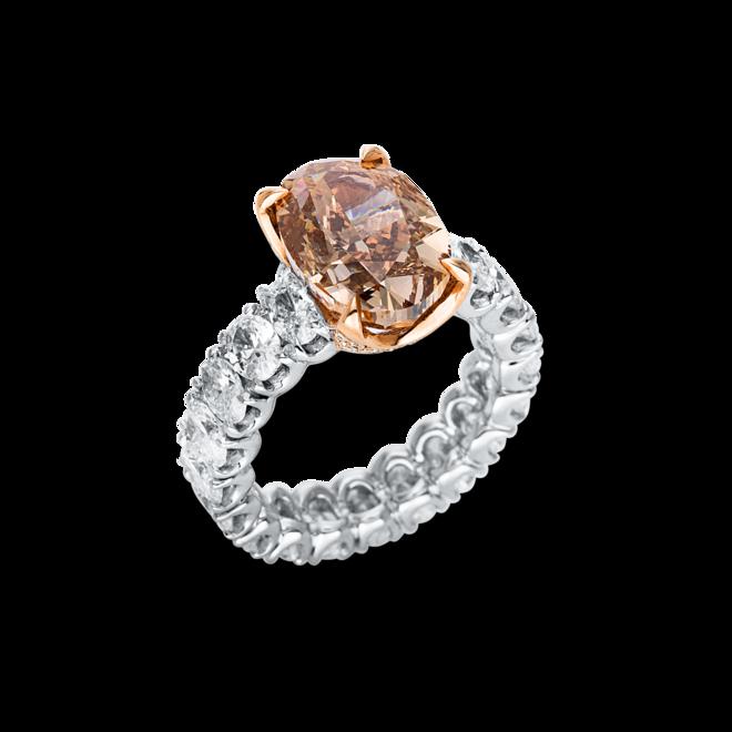 Ring Brogle Selection Exceptional aus 750 Weißgold und 750 Roségold mit 60 Brillanten (11,31 Karat) bei Brogle