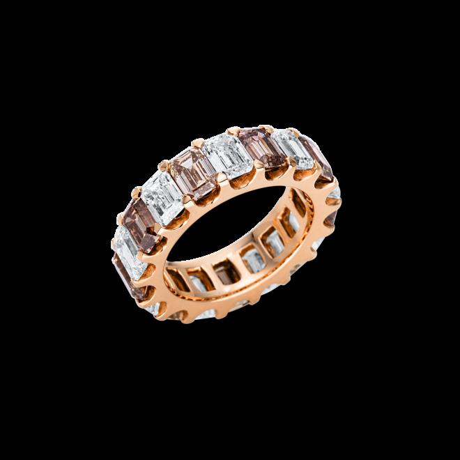 Ring Brogle Selection Exceptional aus 750 Roségold mit 18 Diamanten (7,97 Karat) bei Brogle