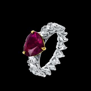 Brogle Selection Ring Royal Herz 1Q074WG