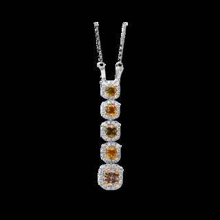 Brogle Selection Halskette mit Anhänger Felicity 4B778WG8-1