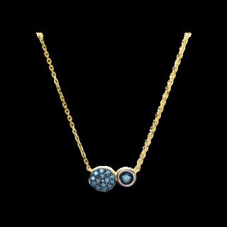 Brogle Selection Halskette mit Anhänger Felicity 4D227G8-2