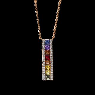 Brogle Selection Halskette mit Anhänger Felicity 4D430R8-5