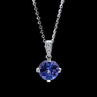 Brogle Selection Halskette mit Anhänger Felicity 4F018W4-1