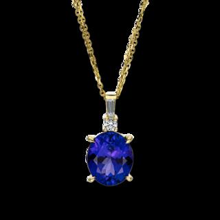 Brogle Selection Halskette mit Anhänger Felicity 4F048G8-3