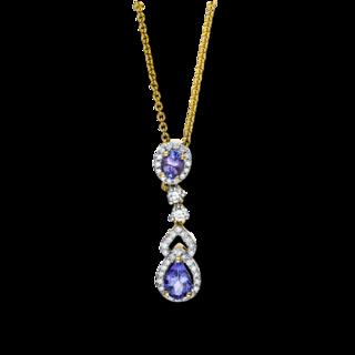 Brogle Selection Halskette mit Anhänger Felicity 4F156G8-1