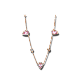 Brogle Selection Halskette mit Anhänger Felicity 4F391R8-1