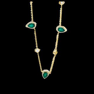 Brogle Selection Halskette mit Anhänger Felicity 4F392G8-1