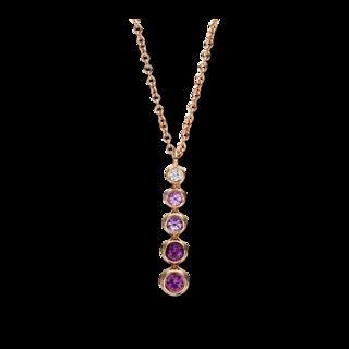 Brogle Selection Halskette mit Anhänger Felicity 4F415R8-1