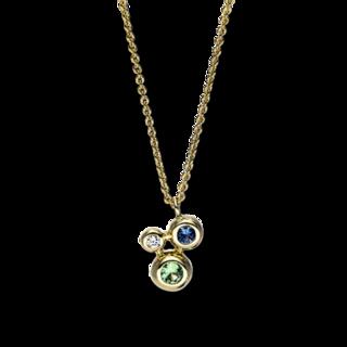 Brogle Selection Halskette mit Anhänger Felicity 4F618G8-1