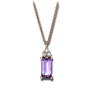 Brogle Selection Halskette mit Anhänger Felicity 4F626R8-1