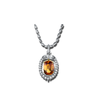 Brogle Selection Halskette mit Anhänger Felicity 4F628WG