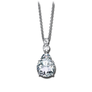 Brogle Selection Halskette mit Anhänger Felicity 4G126W8-1
