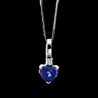Brogle Selection Halskette mit Anhänger Felicity Herz 4F016W4-1