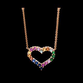 Brogle Selection Halskette mit Anhänger Felicity Herz 4F155R8-1