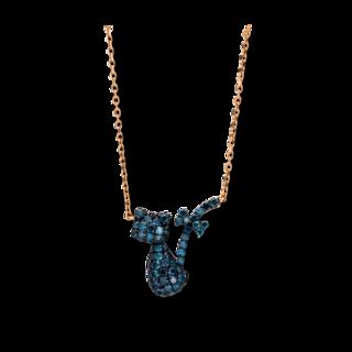 Brogle Selection Halskette mit Anhänger Felicity Katze 4D447R8-2