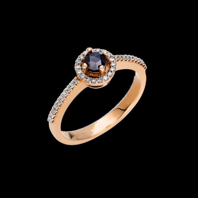 Ring Brogle Selection Felicity aus 750 Roségold mit 39 Diamanten (0,32 Karat) bei Brogle
