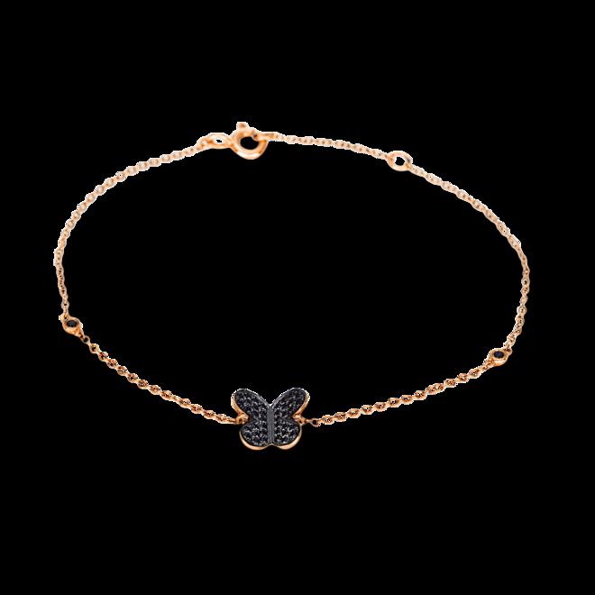 Armband Brogle Selection Felicity Schmetterling aus 750 Roségold mit 40 Brillanten (0,15 Karat) bei Brogle