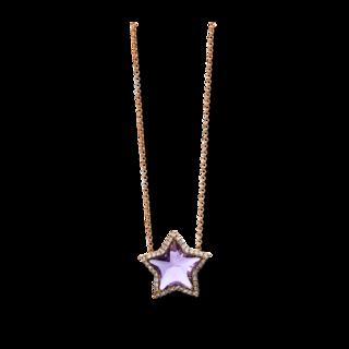 Brogle Selection Halskette mit Anhänger Felicity Stern 4D435R8-3