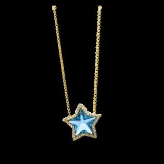 Brogle Selection Halskette mit Anhänger Felicity Stern 4D436G8-2