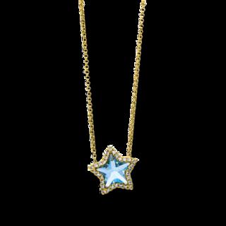 Brogle Selection Halskette mit Anhänger Felicity Stern 4D437G8-2