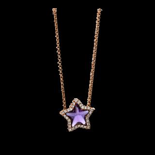 Brogle Selection Halskette mit Anhänger Felicity Stern 4D438R8-2