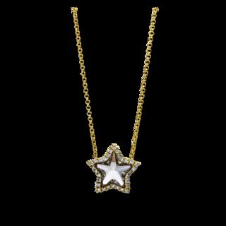 Brogle Selection Halskette mit Anhänger Felicity Stern 4E128G8-1