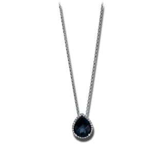 Brogle Selection Halskette mit Anhänger Felicity Tropfen 4F128W8-1