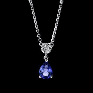 Brogle Selection Halskette mit Anhänger Felicity Tropfen 4F718W8-1