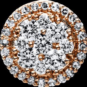 Anhänger Brogle Selection Illusion aus 585 Roségold mit 38 Brillanten (0,43 Karat)