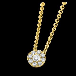 Brogle Selection Halskette mit Anhänger Illusion 4A166G8-1