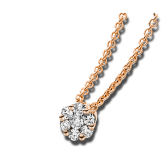 Brogle Selection Halskette mit Anhänger Illusion 4A215R4-3
