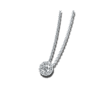 Brogle Selection Halskette mit Anhänger Illusion 4A218W8-3
