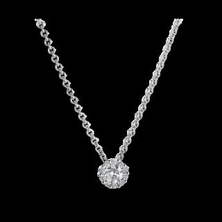 Brogle Selection Halskette mit Anhänger Illusion 4A219W4-3