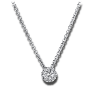 Brogle Selection Halskette mit Anhänger Illusion 4A219W4-4