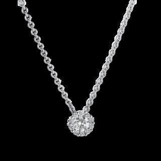 Brogle Selection Halskette mit Anhänger Illusion 4A219W8-7