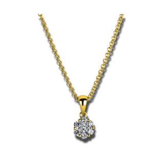 Brogle Selection Halskette mit Anhänger Illusion 4A221G4-3