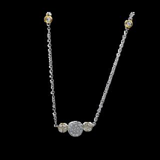 Brogle Selection Halskette mit Anhänger Illusion 4A477WG8-1