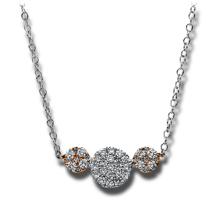 Brogle Selection Halskette mit Anhänger Illusion 4A477WR