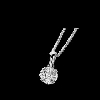 Brogle Selection Halskette mit Anhänger Illusion 4A834W8-3