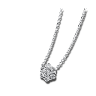 Brogle Selection Halskette mit Anhänger Illusion 4A872W8-3