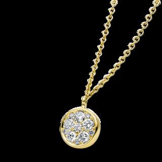 Brogle Selection Halskette mit Anhänger Illusion 4B186G4-1
