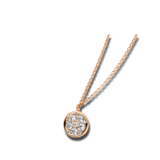 Brogle Selection Halskette mit Anhänger Illusion 4B186R8-1
