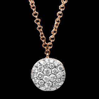 Brogle Selection Halskette mit Anhänger Illusion 4B188R8-2