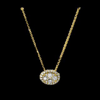 Brogle Selection Halskette mit Anhänger Illusion 4B385G8-1