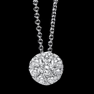 Brogle Selection Halskette mit Anhänger Illusion 4B616W8-1