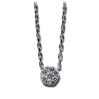 Brogle Selection Halskette mit Anhänger Illusion 4B844W4-1