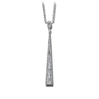 Brogle Selection Halskette mit Anhänger Illusion 4B866W4-1