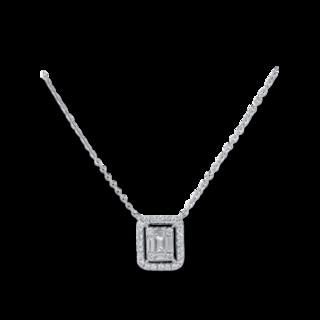 Brogle Selection Halskette mit Anhänger Illusion 4C078W4-1