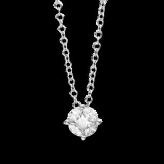 Brogle Selection Halskette mit Anhänger Illusion 4C390W8-1